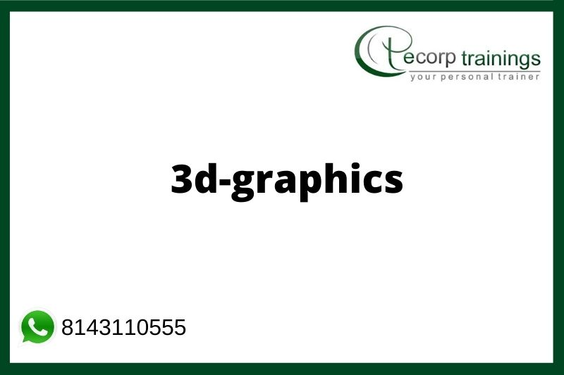 3D Graphics Training in Hyderabad