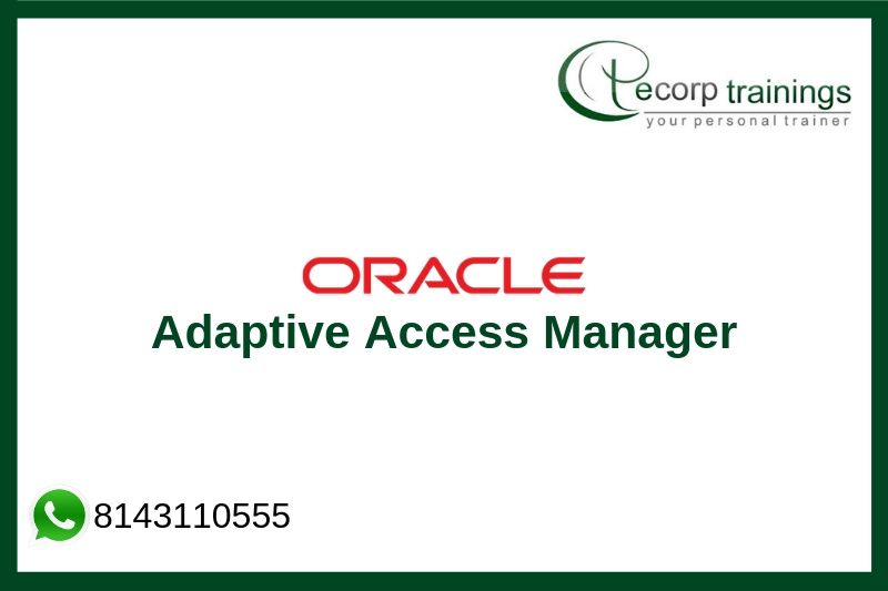 Adaptive Access Manager Training