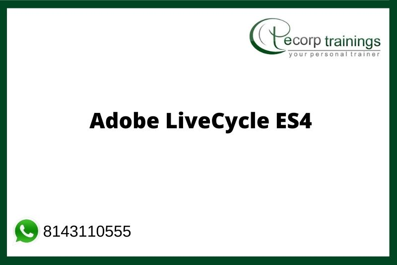 Adobe LiveCycle ES4 Training