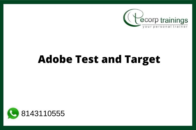 Adobe Test & Target Training