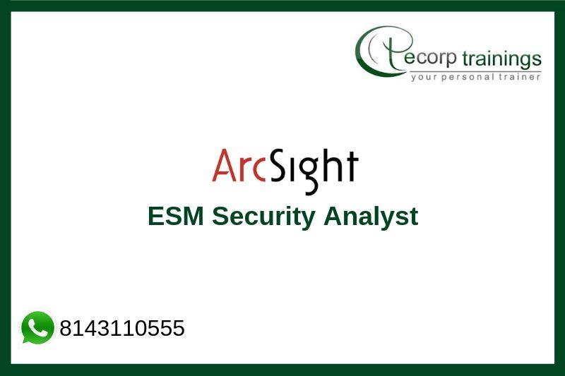 ArcSight ESM Security Analyst Training