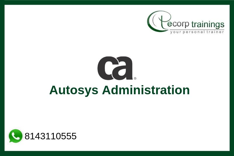 Autosys Administration Training