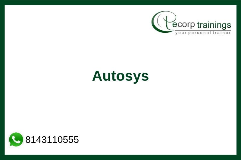 AUTOSYS Training