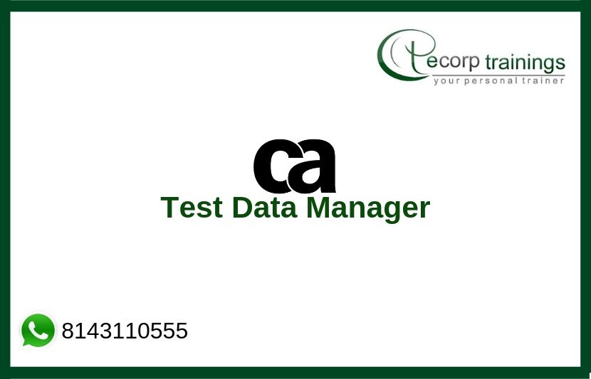 CA Test Data Manager Training