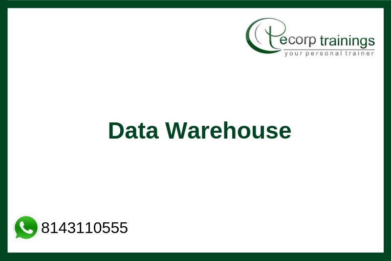 Data Warehouse Concepts Training