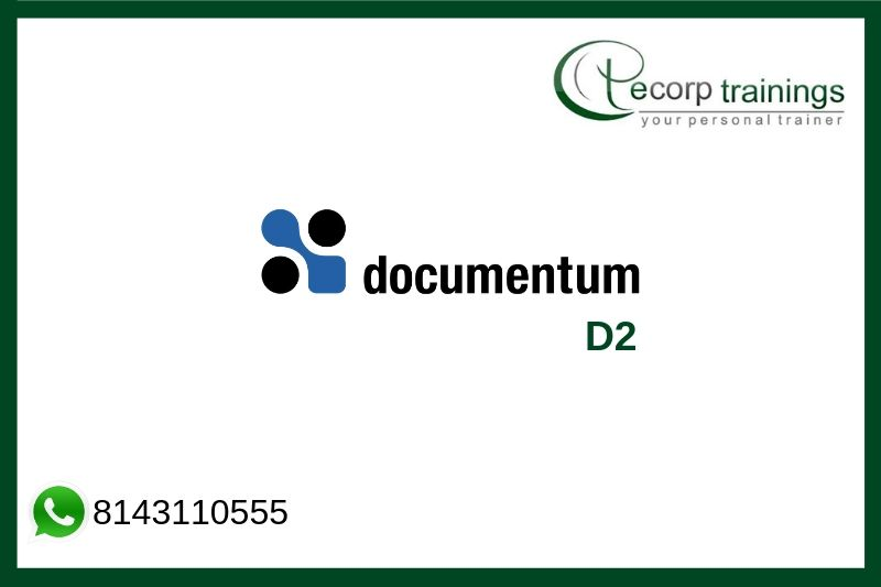 Documentum D2 Training