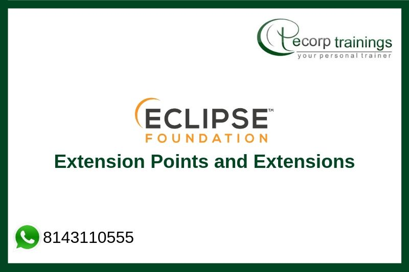 Eclipse Extension Points and Extensions Training