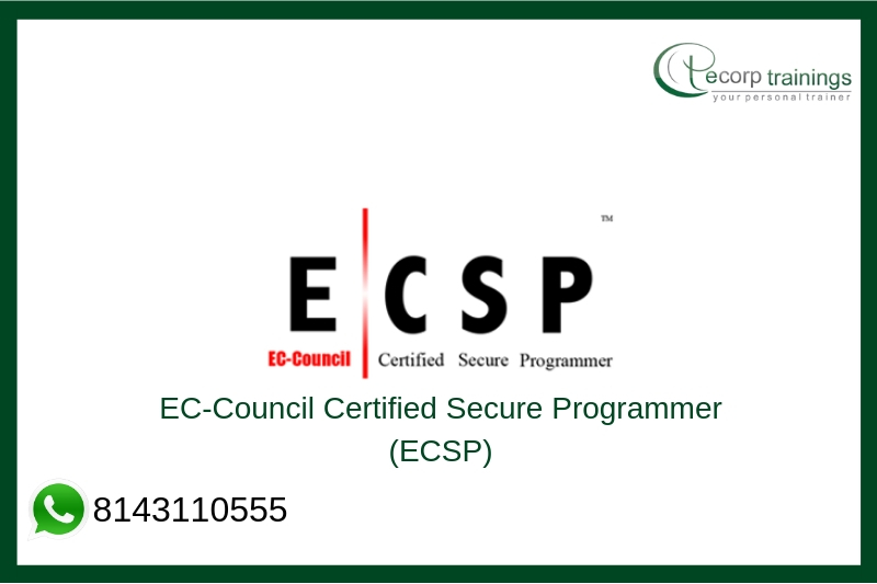 EC-Council Certified Secure Programmer (ECSP) Training