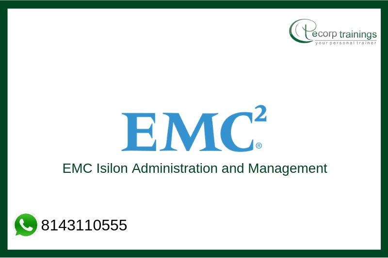 EMC Isilon Administration and Management Training