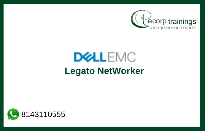 EMC Legato NetWorker Training