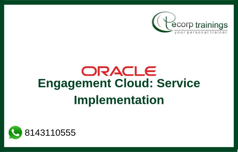 Oracle Engagement Cloud Training