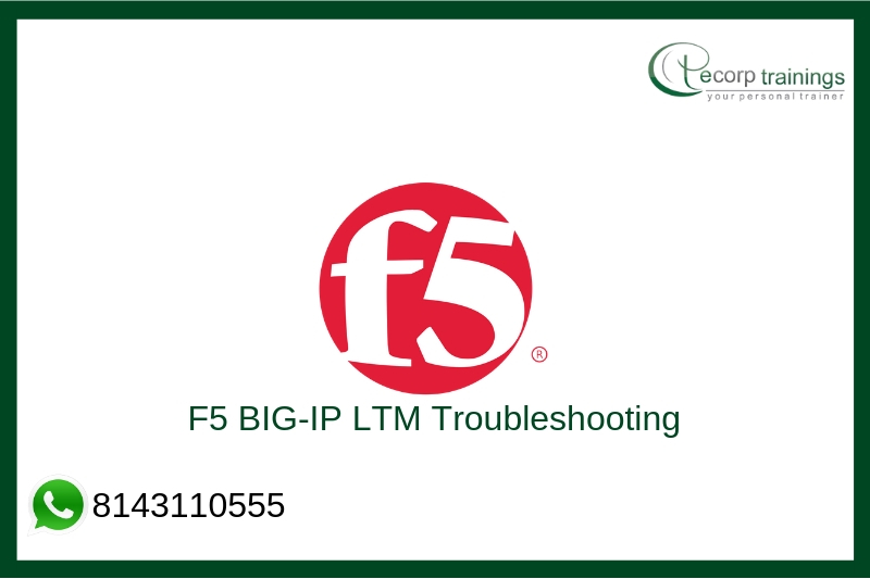 F5 BIG-IP LTM Troubleshooting Training