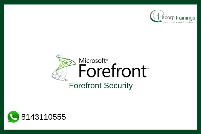 Forefront Security Training