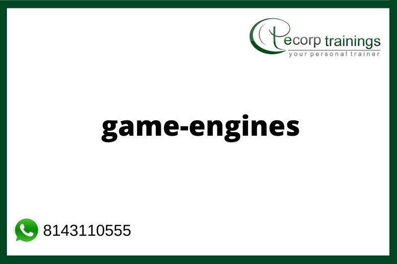 Game Engines Training