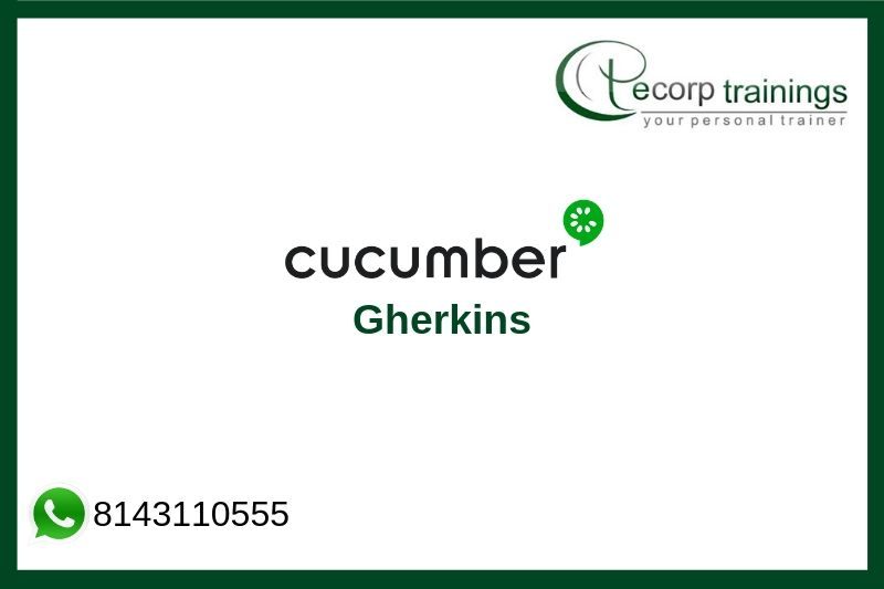 Gherkin Cucumber Training