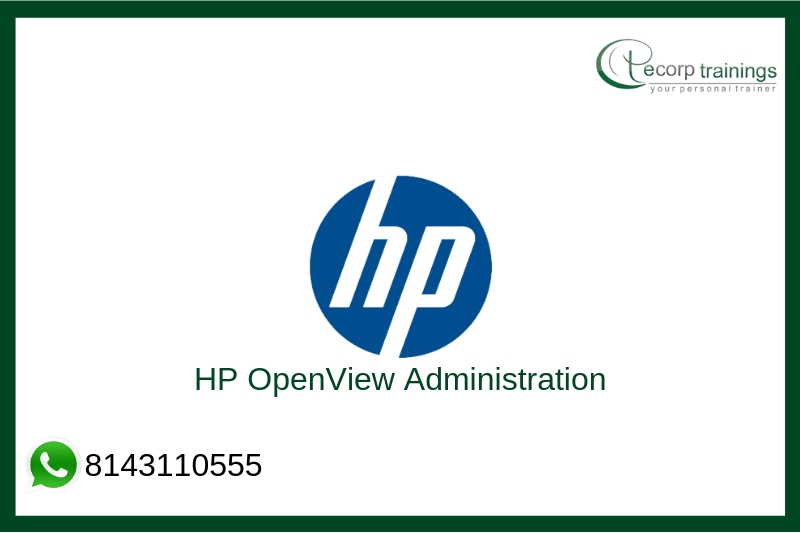 HP OpenView Administration Training