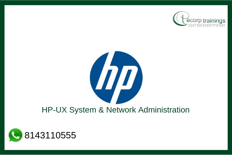 HP-UX System & Network Administration Training