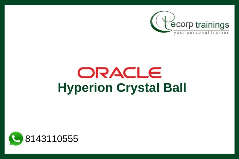 Oracle Hyperion Crystal Ball Training