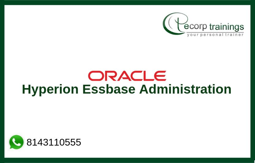 Hyperion Essbase Administration Training