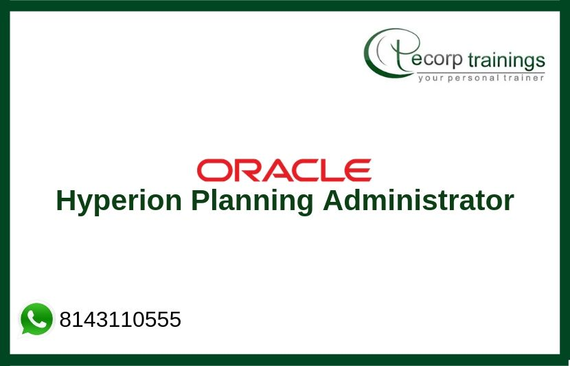 Hyperion Planning Administrator Training
