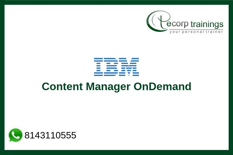 IBM Content Manager OnDemand Training