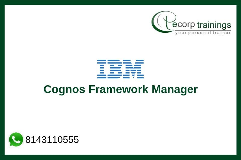 IBM Cognos Framework Manager Training