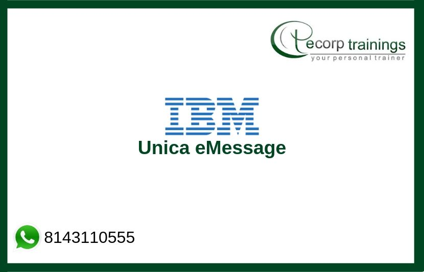 IBM Unica eMessage Training