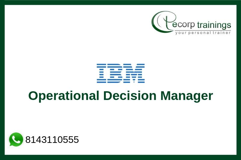 IBM Operational Decision Manager Training