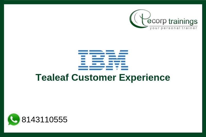 IBM Tealeaf Customer Experience 9.0.1 Advanced Reports and Dashboards Training
