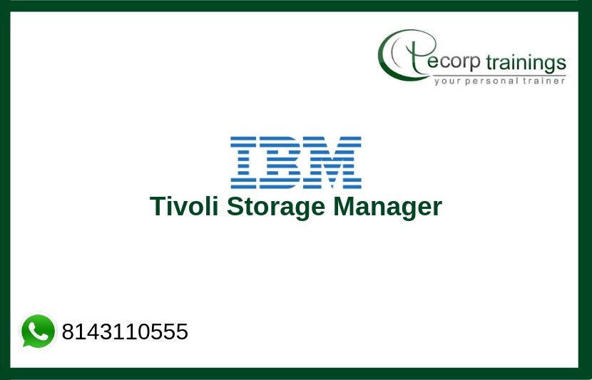 IBM Tivoli Storage Manager Training