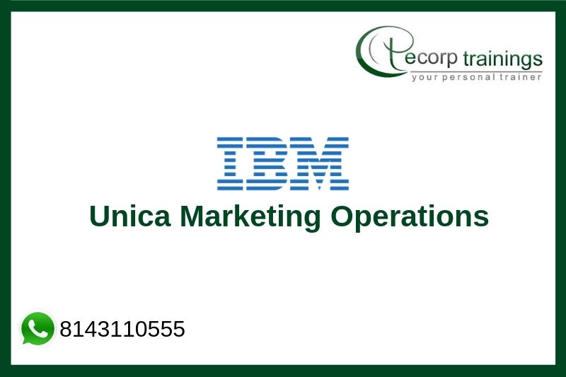 IBM Unica Marketing Operations Training