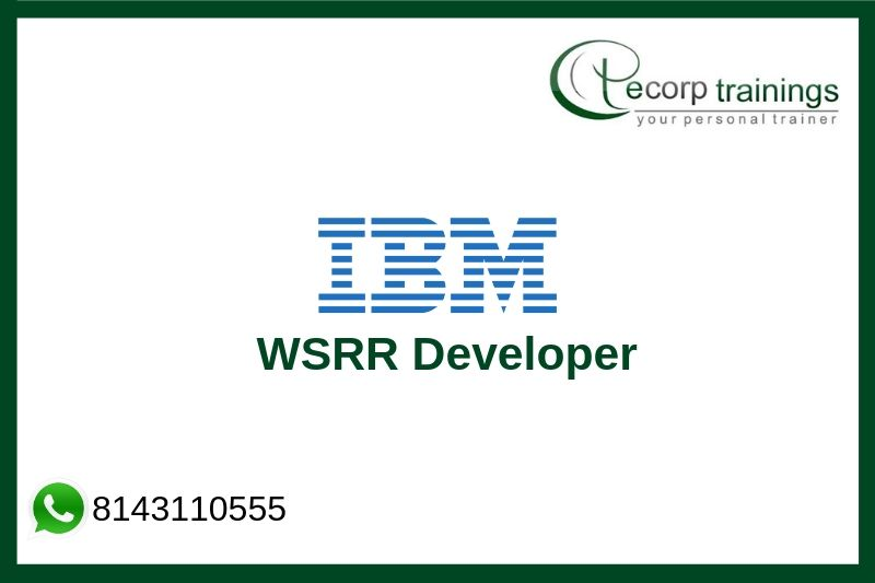 IBM WSRR Developer Training
