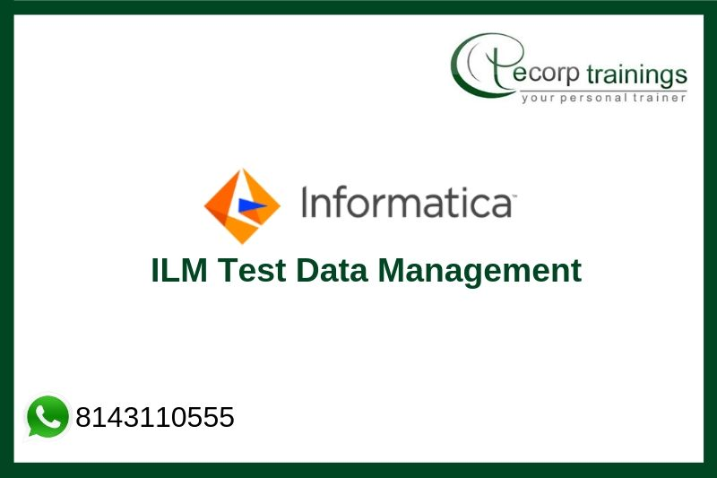 Informatica ILM Test Data Management Training