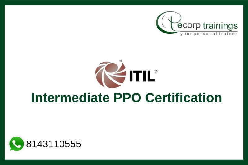 ITIL Intermediate PPO Certification Training