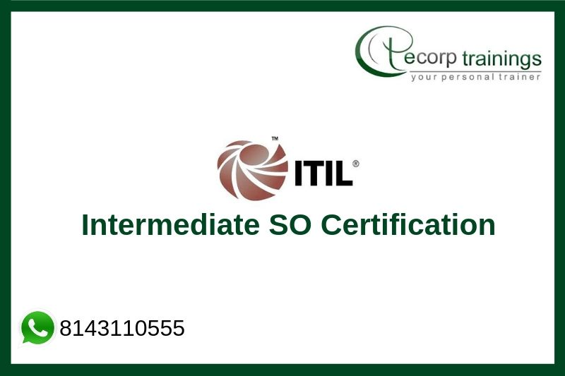 ITIL Intermediate SO Certification Training