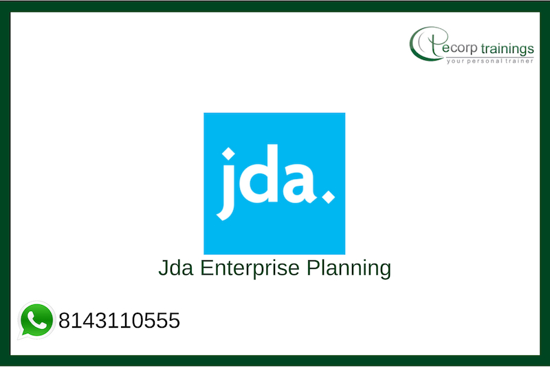 Jda Enterprise Planning Training