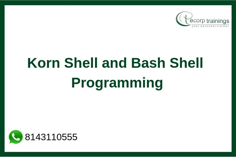 Korn Shell Scripting Training
