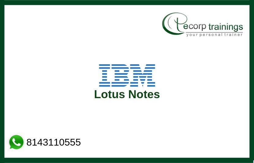 Lotus Notes Training