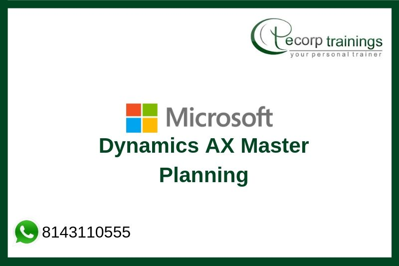 Microsoft Dynamics AX 2012 R3 Master Planning Training