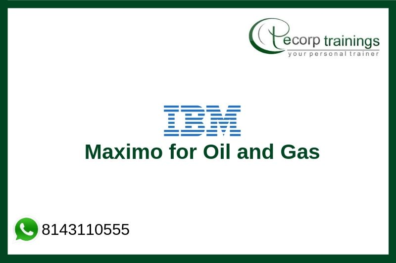 Maximo for Oil and Gas Training
