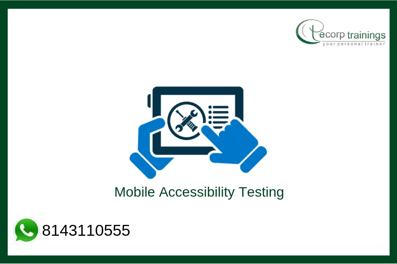 Mobile Accessibility Testing Training