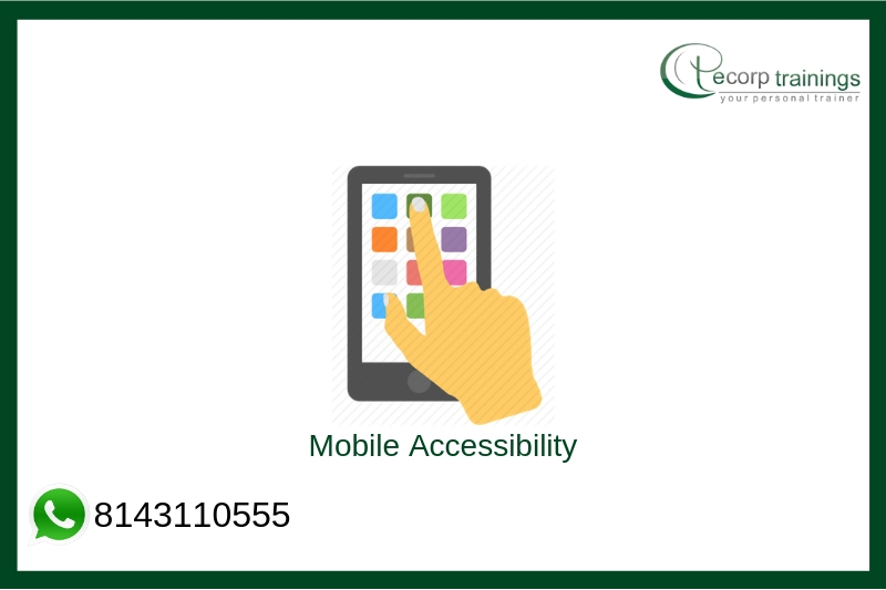 Mobile Accessibility Training