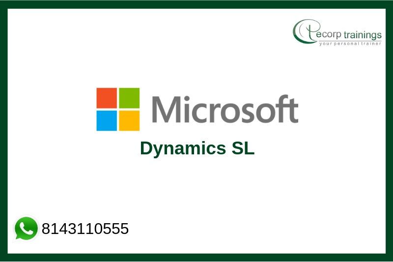 Microsoft Dynamics SL Training