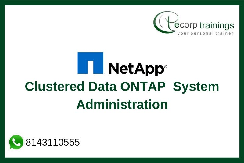 Clustered Data ONTAP 8.3 System Administration Training