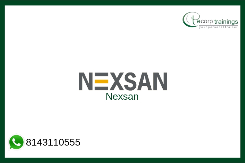 Nexsan Training