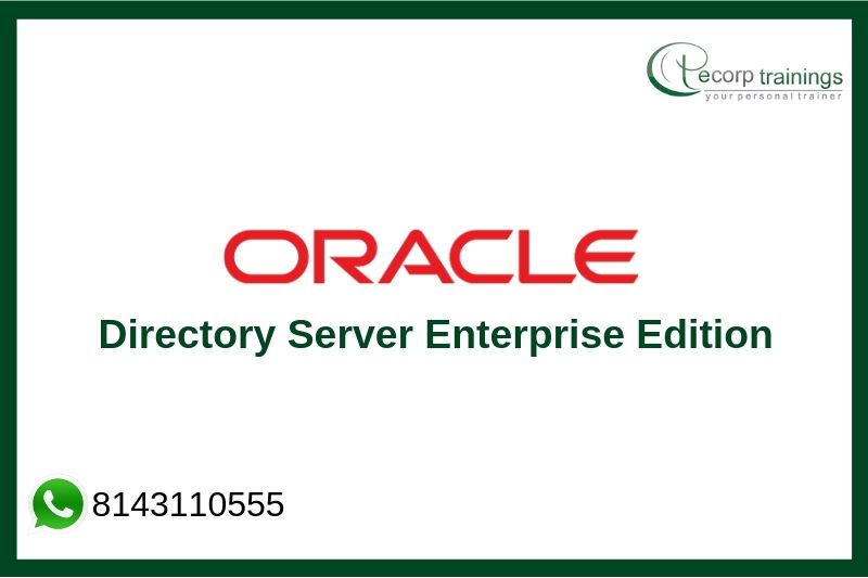 Oracle Directory Server Enterprise Edition Training