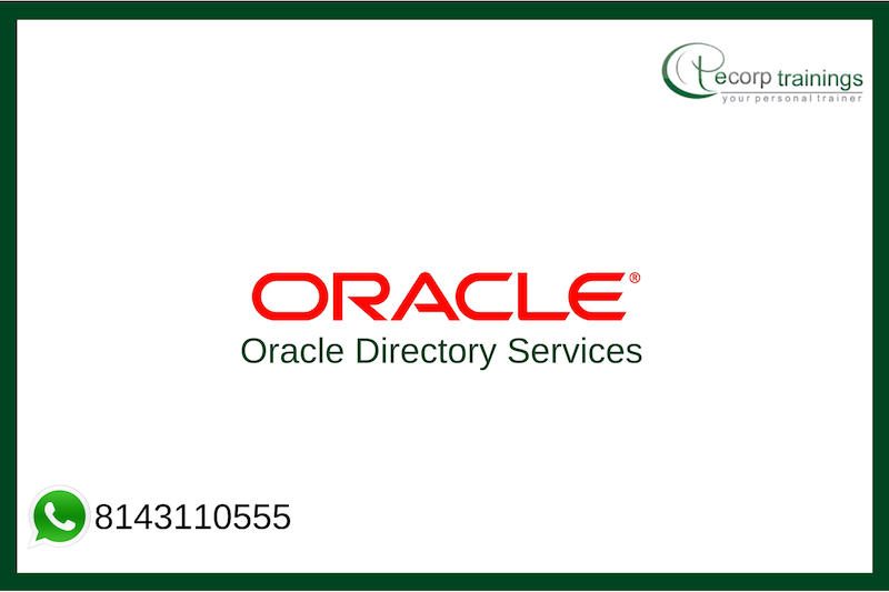 Oracle Directory Services Training
