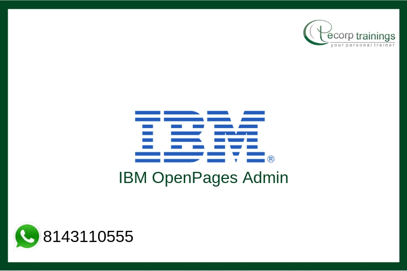 IBM OpenPages Admin Training