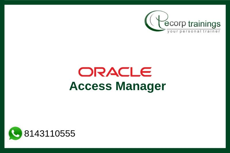 Oracle Access Manager Training