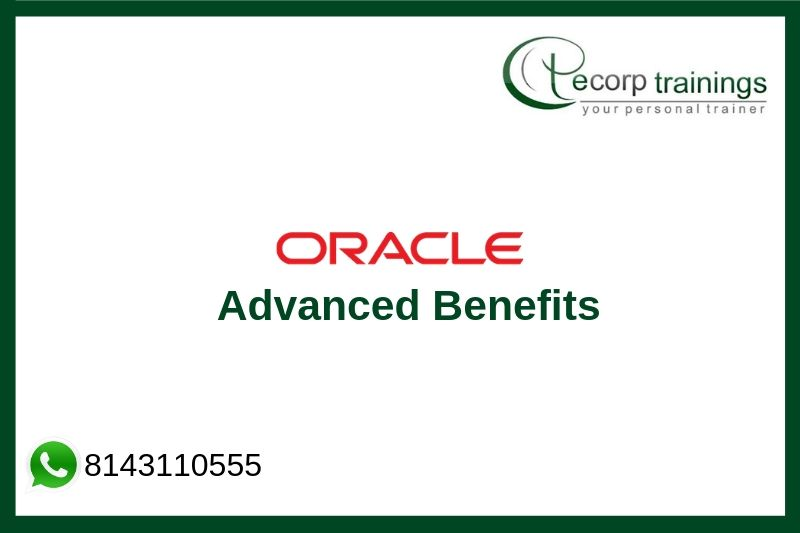 Oracle Advanced Benefits Training